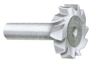 Shear Curved-Tooth Woodruff Keyway Cutter
